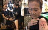 Ở tuổi 71, bà thợ may Sài Gòn vẫn mê xăm hình