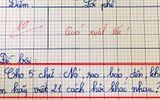 Cô giáo ra bài kiểm tra với 5 chữ tiếng Việt và cái kết khi nhận bài của học sinh