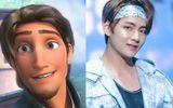 Sẽ ra sao nếu như BTS là các hoàng tử Disney?