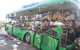 Hiện trường tai nạn thảm ở Bình Định