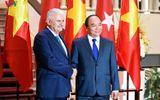 Hình ảnh lễ đón Thủ tướng Thổ Nhĩ Kỳ thăm chính thức Việt Nam