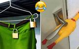 Những cách chống trộm siêu hài hước khiến trộm mất việc làm