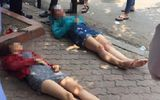 Đi bộ sang đường trái luật, hai cô gái bị xe đâm bất tỉnh