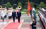 Chủ tịch nước Trần Đại Quang chủ trì lễ đón Tổng thống Ai Cập