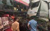 Xe khách đâm trực diện xe tải trên cao tốc Lào Cai, 8 người bị thương