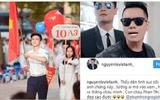 """Dân mạng náo loạn khi """"Phan Hải"""" Việt Anh thừa nhận """"hot boy cầm cờ"""" trong lễ khai giảng là cháu mình"""