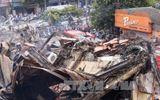 Hiện trường tan hoang sau vụ cháy lớn tại siêu thị Thành Đô