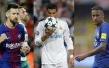 Ronaldo, Messi, Neymar lọt Top 3 đề cử Cầu thủ xuất sắc nhất năm 2017