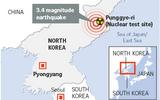 Động đất ở Triều Tiên không liên quan đến thử bom hạt nhân