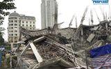 Hà Nội: Hiện trường vụ sập trường mầm non đang xây