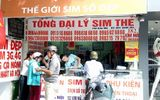 """Giá SIM 11 số tăng giá vài triệu đồng, chủ tiệm SIM thẻ gom hàng chờ """"hốt bạc"""""""