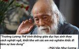 PGS Văn Như Cương: Trường Lương Thế Vinh giáo dục học sinh nghiêm khắc nhưng bao dung