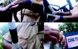 Thanh niên lén quay video rồi nhắn tin tống tiền CSGT bị tạm giữ