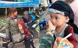 Bà mẹ đơn thân 20 tuổi dẫn con trai 3 tuổi đi phượt bằng xe máy để thực hiện ước mơ