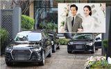 Cận cảnh dàn siêu xe trong lễ rước dâu của Hoa hậu Thu Thảo