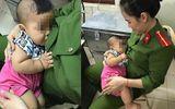 Nữ thiếu úy cảnh sát cho bé trai bị bỏ rơi bú: Thiên chức người mẹ tạo lên điều tuyệt vời