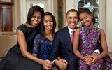 Vợ chồng Barack Obama nuôi dạy con gái thành nhà lãnh đạo