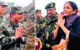 Bộ trưởng Ấn Độ trò chuyện trực tiếp với binh sĩ Trung Quốc ở biên giới