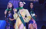 Đại diện Việt Nam Hà Thu vươn lên dẫn đầu thành tích tại Hoa hậu Trái Đất 2017