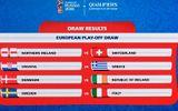 """Play-off World Cup 2018 khu vực châu Âu: Italia tái ngộ """"đối thủ duyên nợ"""" Croatia"""