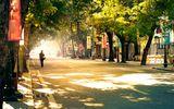 Dự báo thời tiết ngày 21/10: Nam Bộ mưa rào, Bắc Bộ nắng nóng 31 độ C