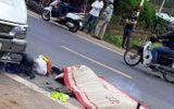 Chạy xe môtô tốc độ cao, phượt thủ bị xe khách đâm tử vong