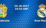 Lịch thi đấu bóng đá mới nhất hôm nay 26/10/2017