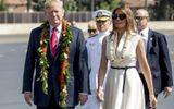 Chùm ảnh vợ chồng Tổng thống Mỹ Donald Trump trước khi công du Châu Á