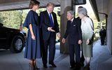 Tổng thống Mỹ Donald Trump diện kiến Nhật Hoàng Akihito