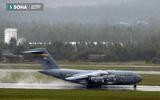 Máy bay C17 của đoàn Mỹ đã tới sân bay Đà Nẵng