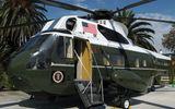 Siêu trực thăng Marine One của Tổng thống Donald Trump đến Việt Nam