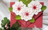 Ngày 20/11: Cách làm thiệp hoa vừa đơn giản vừa đẹp tặng thầy cô giáo