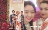 Lộ diện cô dâu xinh đẹp trong lễ ăn hỏi hoành tráng của thiếu gia Tập đoàn Tân Hoàng Minh