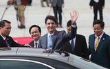 Thủ tướng Canada Justin Trudeau đã đến Đà Nẵng dự APEC