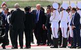 Những hình ảnh đầu tiên của Tổng thống Mỹ Donald Trump tại Đà Nẵng