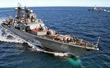 Liên đội tàu chiến Hạm đội Thái Bình Dương Nga thăm không chính thức Campuchia