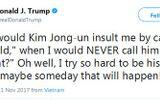 Tổng thống Mỹ Donald Trump muốn làm bạn với ông Kim Jong-un