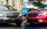 Cân nhắc chọn Chevrolet Cruze 2018 hay KIA Cerato 2018 để phục vụ gia đình