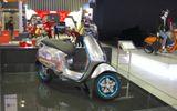 Mẫu xe Vespa chạy điện công suất 5,2 mã lực có gì hấp dẫn?