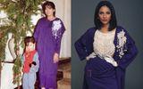 Trương Thị May bất ngờ diện lại trang phục của mẹ cách đây 30 năm