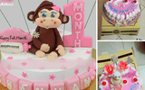 Đặt bánh sinh nhật hình khỉ, mẹ trẻ cay đắng khi nhận được chiếc bánh