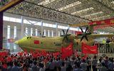 Trung Quốc chế tạo thành công máy bay lội nước lớn nhất thế giới