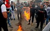 Công nhận Jerusalem: Hàng trăm người biểu tình đốt cờ Mỹ ở Lebanon