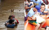 """Những hình ảnh quặn lòng khi bão Tembin """"quần nát"""" Philippines"""