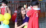 Thí sinh Hoa hậu Hoàn vũ Việt Nam tham gia hành trình từ thiện ý nghĩa