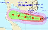 Tin bão số 16 mới nhất: Bão giật cấp 13, rạng sáng mai áp sát Côn Đảo