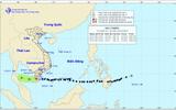Bão số 16 suy yếu thành áp thấp nhiệt đới gần bờ