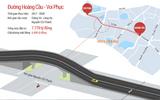 Hà Nội đầu tư 7.779 tỉ đồng để làm con đường Hoàng Cầu - Voi Phục