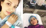 Cựu người mẫu Thúy Hạnh được ông xã chăm sóc hết mình sau ca mổ cắt tử cung