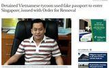 Bộ Nội vụ Singapore: Ông Phan Van Anh Vu đã bị Interpol phát lệnh truy nã đỏ